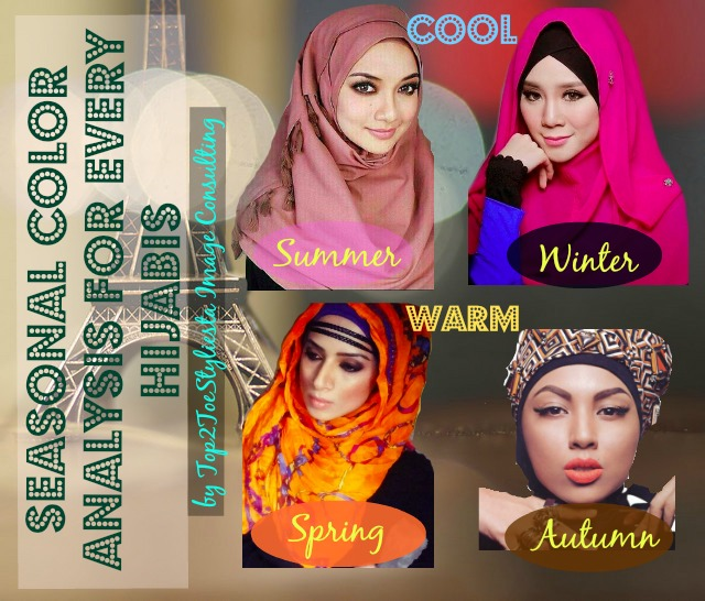 COLOR ANALYSIS FOR EVERY HIJABIS