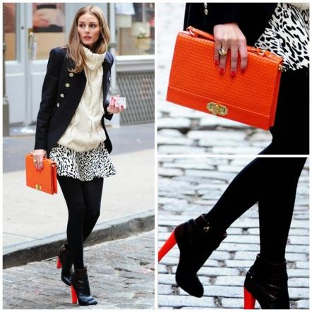 Tip 2 : Padankan beg dengan warna yang paling sedikit dlm pakaian atau kasut