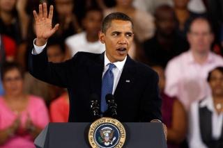 Obama bijak menggunakan psikologi warna ini di dalam setiap situasi
